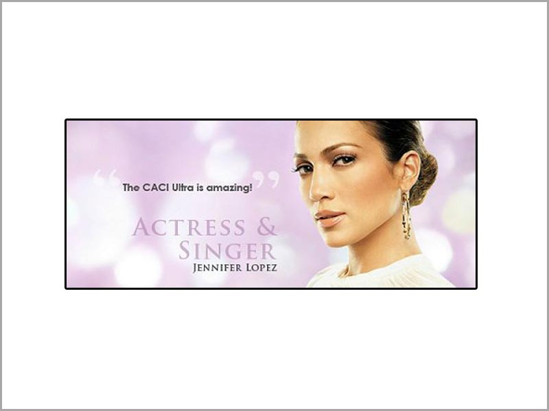 the caci ultra is amazing | actress & singer Jennifer lopez